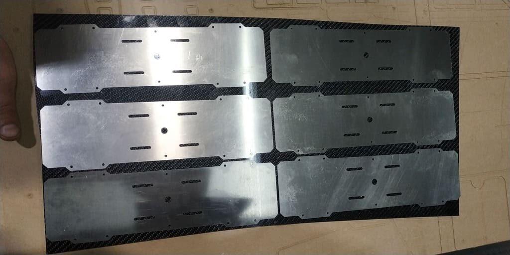 Лазерная резка металлических листов №1